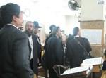 עורכי הדין בהיכל ישיבת פוניבז'