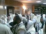 חסידי ברסלב בחנוכה באומן. צילום ארכיון: חדשות24