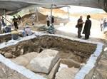 הפגנה, קברים, חפירות, קו המים החמישי לירושלים, שער הגיא
