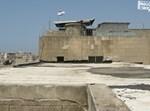 חוטי התיל מסביב לדגל ישראל