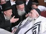 """הגר''ג אדלשטיין אצל הגרח""""פ שיינברג"""