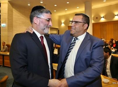חיים כהן עם משה ליאון