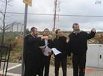 רובינשטיין, יובל יעקב ומשה פרידמן בסיור בעיר