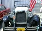 רכב משנת 1924 בסמל הרכב יש מגן דוד