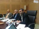 יו''ר ועדת הכספים עם שר האוצר בדיוני הוועדה