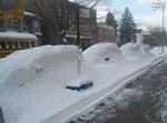 הלבן-הלבן הזה. שלג בבורו פארק. צילום: בחדרי חרדים