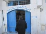 """יהודי בבית הכנסת בתוניס. צילום: חב""""ד און ליין"""