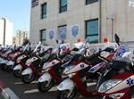 קוטנועים של ארגון איחוד הצלה. צילום ארכיון