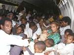 עליית יהודי אתיופיה (ארכיון)