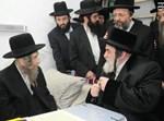הרבי מויז'ניץ עם הרב שטינמן