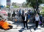 הפגנה, ימין, ירושלים, כניסה לעיר, צמיגים,