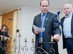 הכבאים אצל ראש עיריית ירושלים ניר ברקת במסיבת חנוכה תשעא