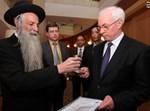 הרב דניאל דיין עם ראש ממשלת אוקראינה