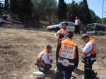מתנדבי 'הצלה ישראל' בפעולה (צילום ארכיון: 'הצלה ישראל')