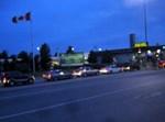 """מעבר הגבול בין ארה""""ב לקנדה לפנות הבוקר"""