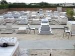 בית הקברות בגוש-קטיף לפני הפינוי
