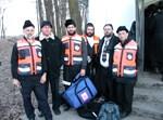 מתנדבי 'הצלה' בליז'נסק, בשנה שעברה