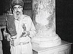 הרב שלמה גורן, בכיפת הסלע