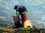 הפצצות חיל האויר בלבנון * צילום: רויטרס