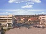 """צילום אוירי של """"מרכז רפואי צאנז - בית חולים לניאדו"""""""