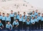 ילדים במועדון פריצות. להקת פרחי ירושלים