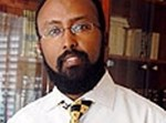 """נציג העדה האתיופית בש""""ס, הרב מזור בהיינה. צילום: חיים הורנשטיין"""