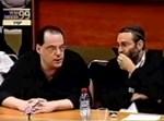 גפני מול רכלבסקי, היום בכנסת. צילום: מתוך ערוץ הכנסת