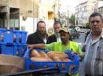 ראש העיר משתתף בהחרמת הלחם