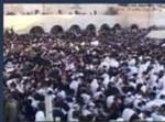 חלק מקהל הרבבות בכותל המערבי