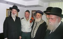 """הגר""""ש קוק, הרבנים הראשיים ואלוף פיקוד העורף"""