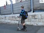 בדרך לבית הספר. צילום ארכיון