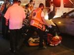 זירת התאונה; צילום ישראל אהרן
