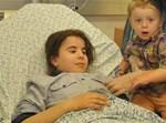 הילדים שנפגעו בבית החולים; צילום בית החולים קפלן