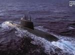 """הצוללת אח""""י תנין; צילום דובר צה""""ל"""