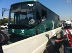 תאונת שאירעה אתמול עם אוטובוס; צילום חדשות 24