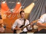 ירון בר ותזמורת להבה, צילום: מאיר דהן