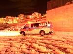 ביתר עילית, שלג, חירום, אמבולנס