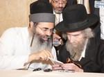 """הרב אמנון יצחק עם הגראיי""""ל שטיינמן"""