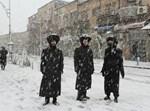 שלג בירושלים: גלריית ענק