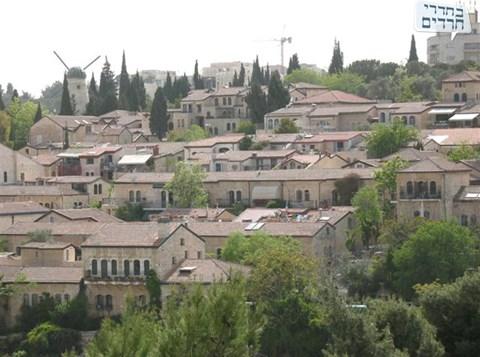 משכנות שאננים, הראשונה בירושלים