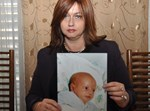 """מיכל זיסר עם בנה ז""""ל. צילום: עוזי ברק"""