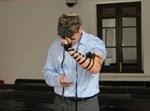 """אבנר נתניהו בתפילה. צילום: לע""""מ"""