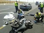 תאונת אופנוע. צילום: בועז בן ארי