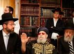 """הרבנים הראשיים אצל הגר""""ע. צילום: פלאש 90"""