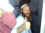 מעצרו של בועז אלברט. צילום: אלחנן גרונר, הקול היהודי