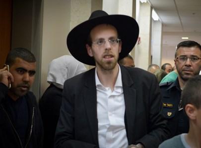 אברהם טריגר מובל להארכת מעצרו אמש, צילום: אש90