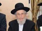 """הגאון רבי שמואל איינשטיין זצ""""ל. צילום: שוקי לרר"""