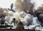הפצצה צבאית. צילום אילוסטרציה: עבד ראחים חאטיב, פלאש 90