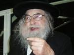 """הגבאי רבי חנינא שיף ז""""ל. צילום ארכיון: רש""""י"""