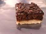 פרוסת עוגה - גרסה ללא זיגוג חמאת בוטנים
